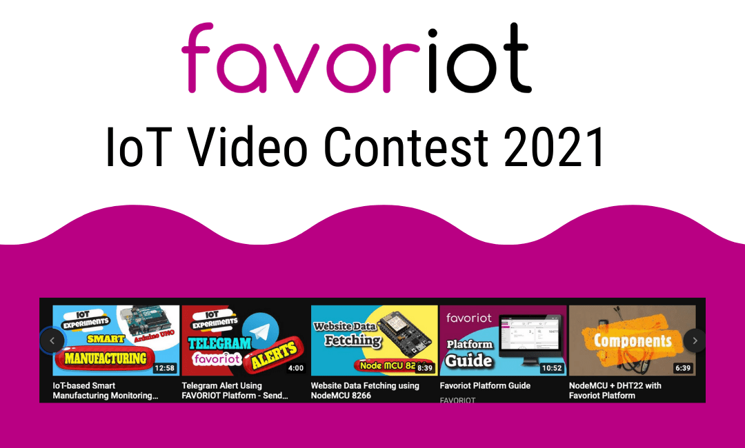 FAVORIOT IoT Video Contest  2021
