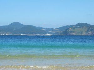 伊王島は透明度が高く、素晴らしい海です2
