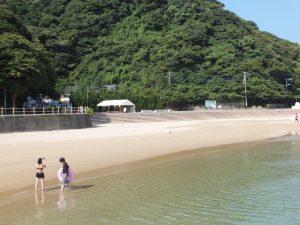 海の透明度が美しい伊王島2