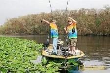 Panfishing in Okeechobee City FL
