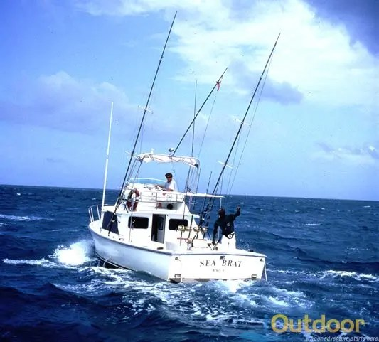 Boat charters in clearwater fl ioutdoor adventures for Deep sea fishing trips