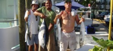 Tuna from party boat fishing tampa fl