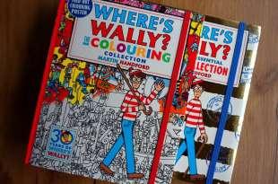 累積銷售6000萬本 Where's Wally? The Colouring Collection 讓小孩好忙的找找看著色書