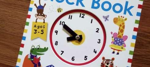 不怕去上學 my first Clock Book 我的第1本時鐘書