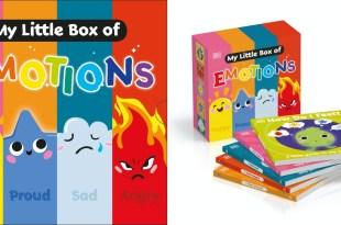 幼稚園必讀書單|給孩子的第一套EQ教育|First Emotions 我的第1個情緒書盒