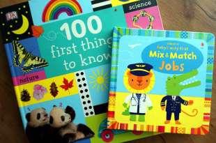 引導孩子的上下空間概念Baby Very First Mix and Match Jobs 100 First Things to Know