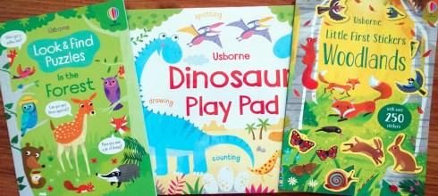 遠離3C的好方法-不無聊畫畫遊戲書Dinosaur Play Pad 貼紙書和指令型找找書