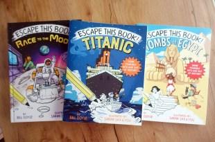 英文互動式讀本|Escape this Book Titanic 鐵達尼號逃脫遊戲讀本