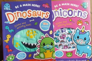 Be a Mask Hero 口罩遊戲貼紙書