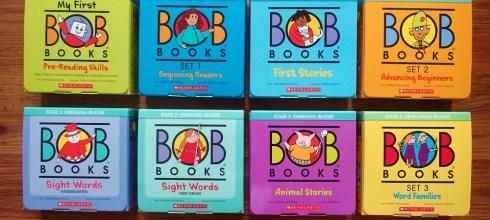 超過40年好評,最多老師與家長推薦 BOB Books小孩的第一套認字書(上篇)
