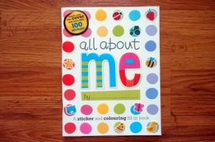 等了一年才有書|All About Me「我」的貼紙著色書