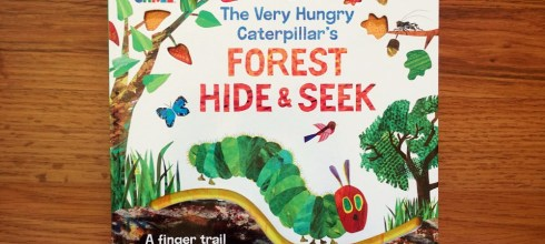 每個孩子都要有Eric Carle的故事書|The Very Hungry Caterpillar Forest Hide & Seek