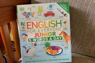 English for Everyone Junior 5 words a Day 線上音檔英文自學教材,基礎1000單字