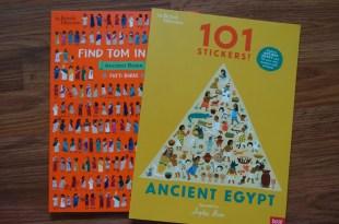 大英博物館的親子共讀書單 101 stickers ancient Egypt 埃及希臘羅馬三部曲