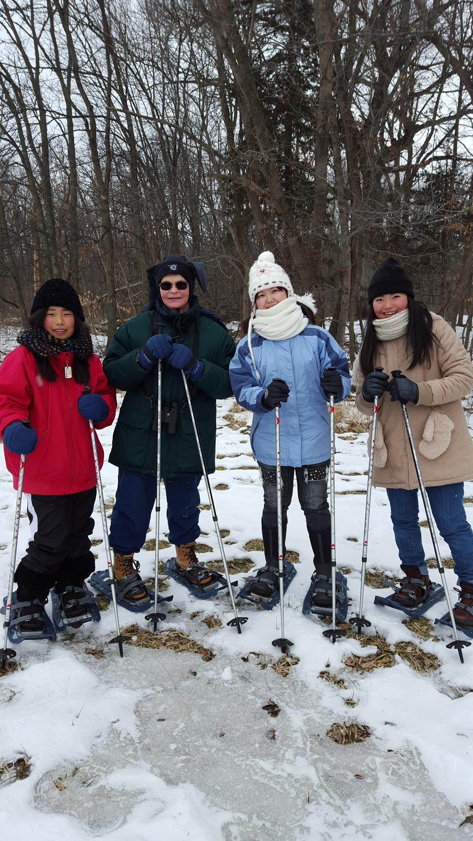 Group 2 Snow Shoeing