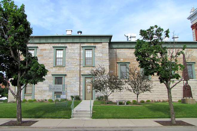 The Squirrel Cage Jail In Council Bluffs Iowa