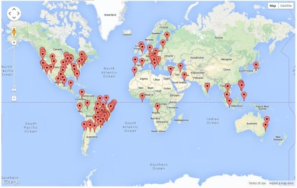 Website Visitors - Global