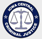 Iowa Central Criminal Justice logo