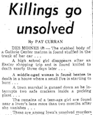 1965 Killings Go Unsolved clip