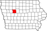 Calhoun County in Iowa
