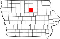 Franklin County in Iowa