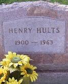 Henry Hults headstone