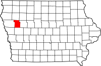 Ida County in Iowa