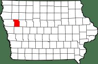 Ida County in Iowa