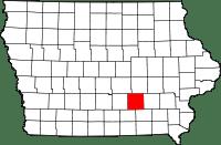mahaska-county-map