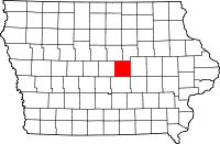 Marshall County in Iowa