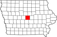 Story County in Iowa