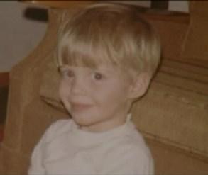 Johnny Gosch as toddler