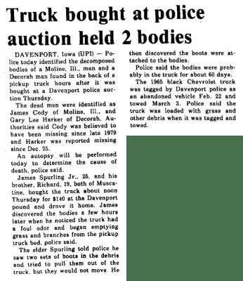 Courtesy the Burlington Hawkeye, April 25, 1980