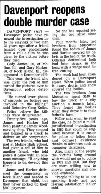 Courtesy The Gazette, Dec. 26, 2004