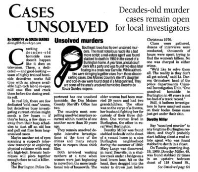 Courtesy The Hawk Eye, July 25, 2004