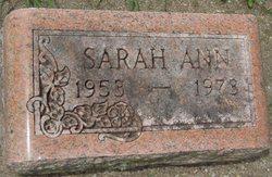Sarah Ottens gravestone
