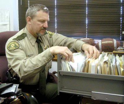 Calhoun County Sheriff Bill Davis