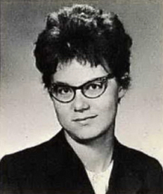 Gloria Slump's high school yearbook photo (Courtesy ancestry.com)