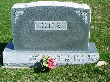 ramona-cox-gravestone