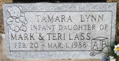 Tamara Lass gravestone