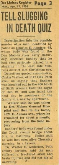 Courtesy The Register, April 19, 1954