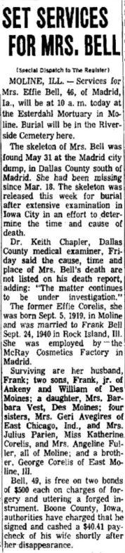 Courtesy Des Moines Register, July 30, 1966