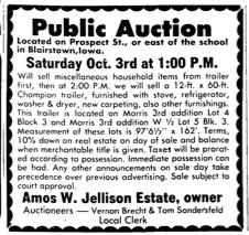 Courtesy the Gazette, Sept. 27, 1981