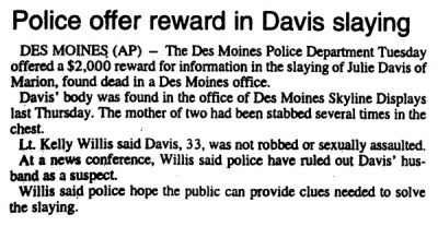 Courtesy Estherville Daily Times, Sept. 4, 1997
