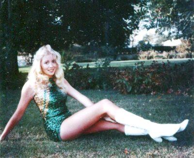 Michelle Martinko 1979 twirler pose