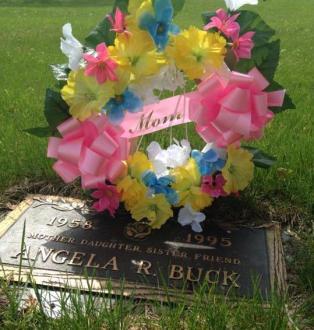 Angela Buck headstone