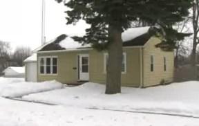 The home where Bobbi Crawford was slain.