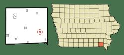 Bonaparte in Van Buren County, Iowa