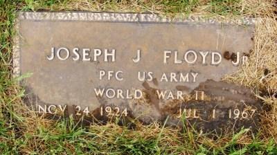 Joe Junior Floyd gravestone
