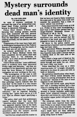 Courtesy the Telegraph-Herald, April 25, 1971